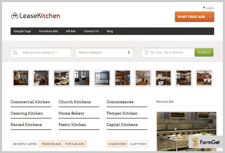 LeaseKitchen Kitchen WordPress Theme