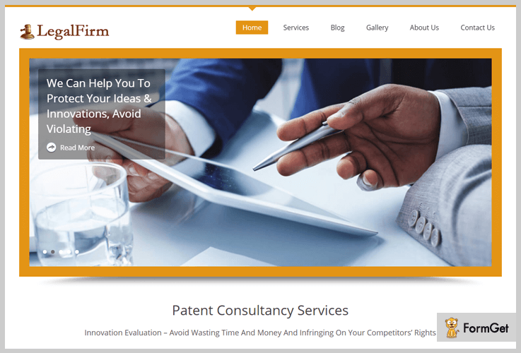 Lawyers WordPress Themes