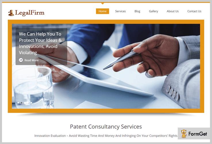 LegalFirm WordPress Theme
