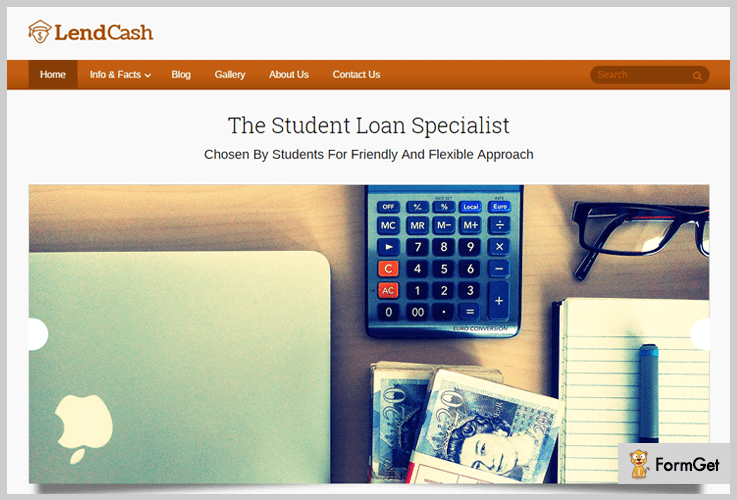 LendCash Financial WordPress Theme