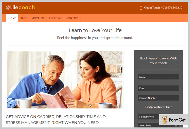 LifeCoach Life Coach WordPress Themes