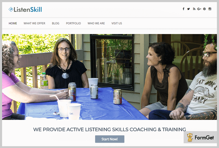 ListenSkill Life Coach WordPress Themes