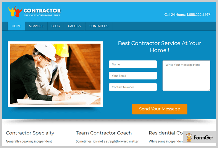 Local Business Lead Generation WordPress Theme