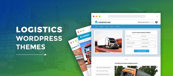 5+ Logistics WordPress Themes 2019 (Free and Paid) | FormGet