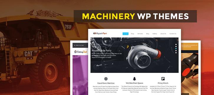 Machinery WordPress Themes