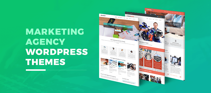 Marketing Agency WordPress Themes