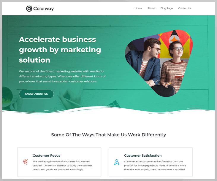 Colorway - Afiiliate Marketing wordPress Theme