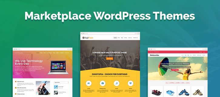 Marketplace WordPress Themes