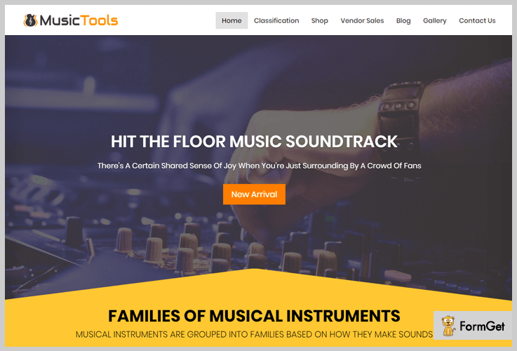 Music Tools Music WordPress Theme
