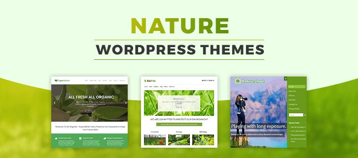 Nature WordPress Themes