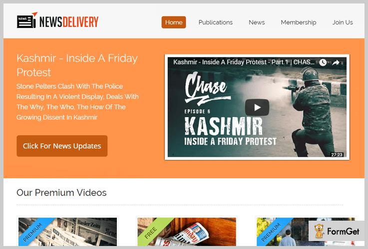 NewsDelivery Newspaper WordPress Theme
