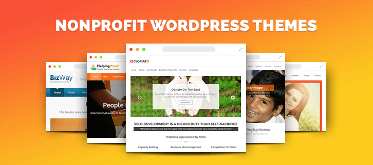 5+ Nonprofit WordPress Themes 2018 (Free and Paid)