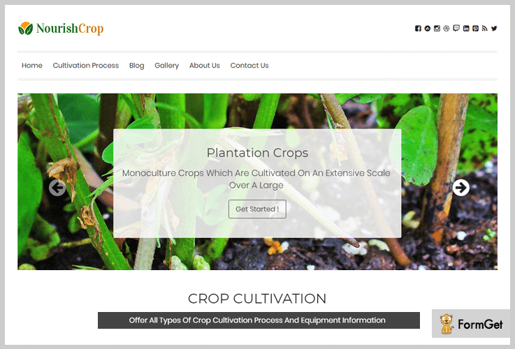 NourishCrop Agriculture WordPress Themes