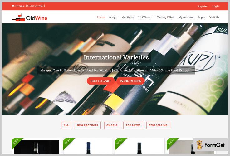 OldWine Wine WordPress Themes