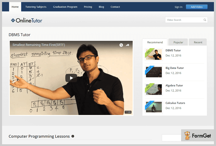 OnlineTutor E-learning WordPress Themes