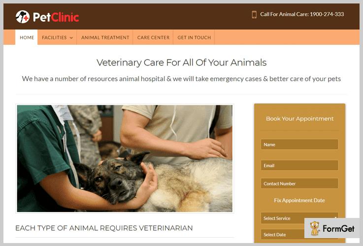Animal WordPress Theme