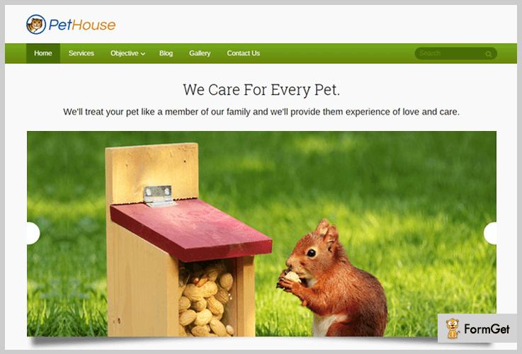 pet-house animalcare wordpress theme