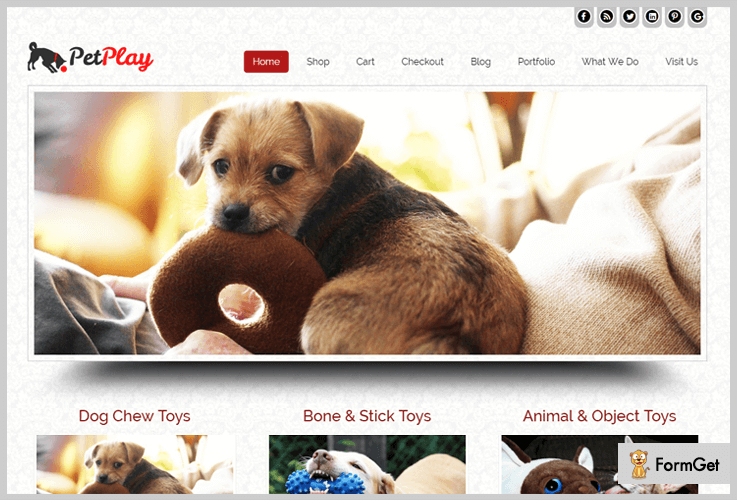 Pet Play Pet Store WordPress Theme