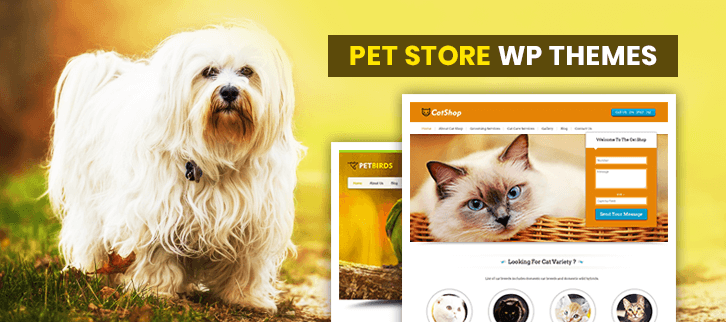 Pet Store WordPress Themes