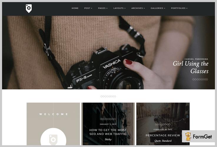 Photoblog WordPress Photoblog Theme