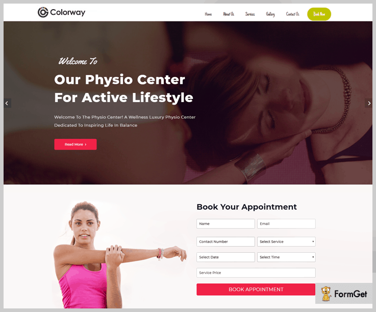 ColorWay Physiotherapy WordPress Theme