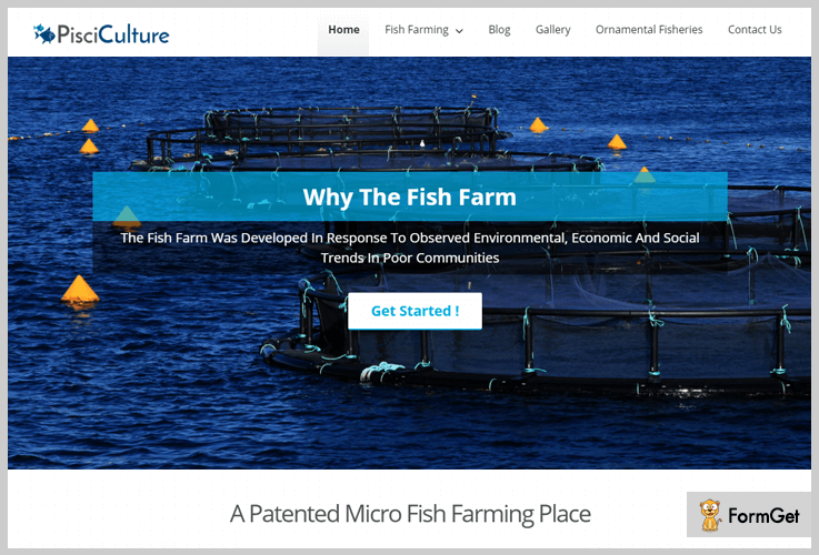 PsciCulture Fishing WordPress Theme
