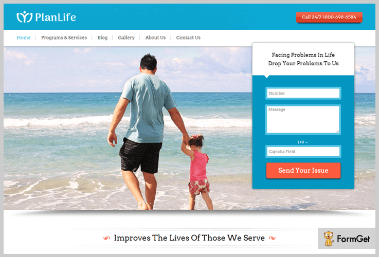 PlanLife Life Coach WordPress Themes