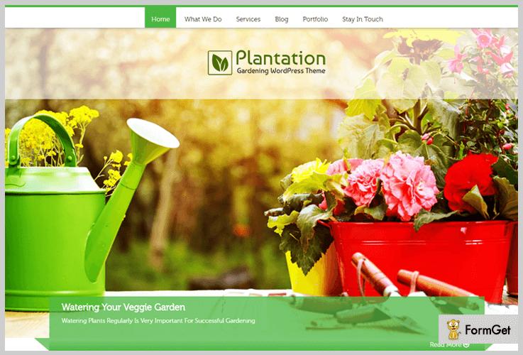 Plantation Landscaping WordPress Theme