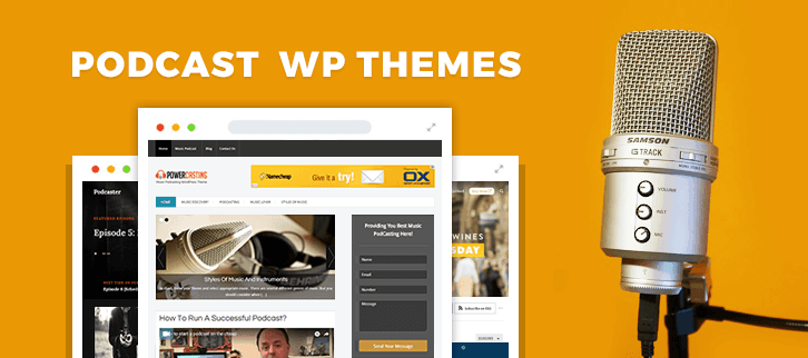 Podcast WordPress Themes