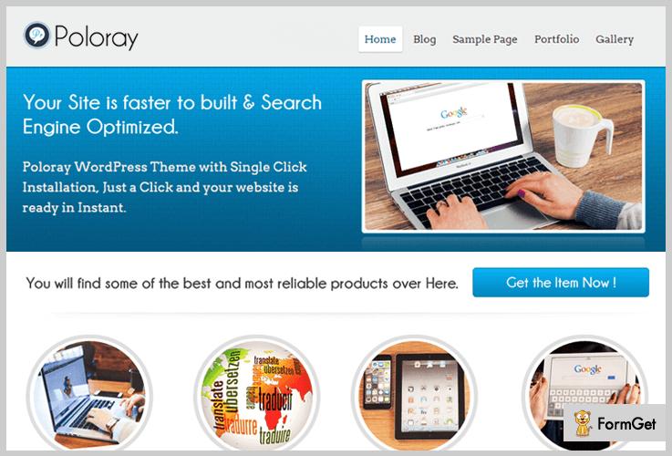 Poloray Logistics WordPress Theme