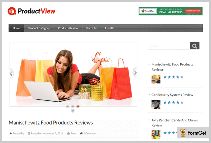 ProductView Reviews WordPress Theme
