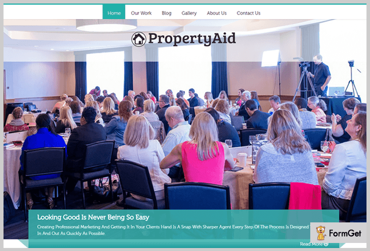 PropertyAid Real Estate WordPress Theme