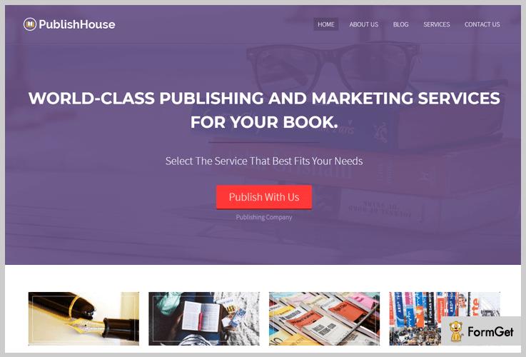 PublishHouse Journalist WordPress Themes