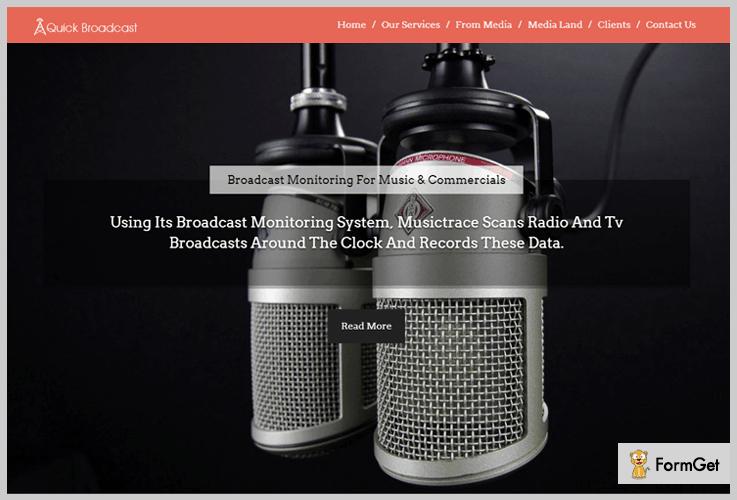 QuickBroadcast Journalist WordPress Themes