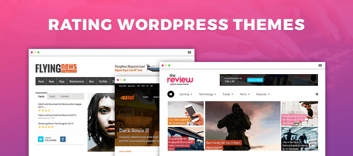 Rating WordPress Themes