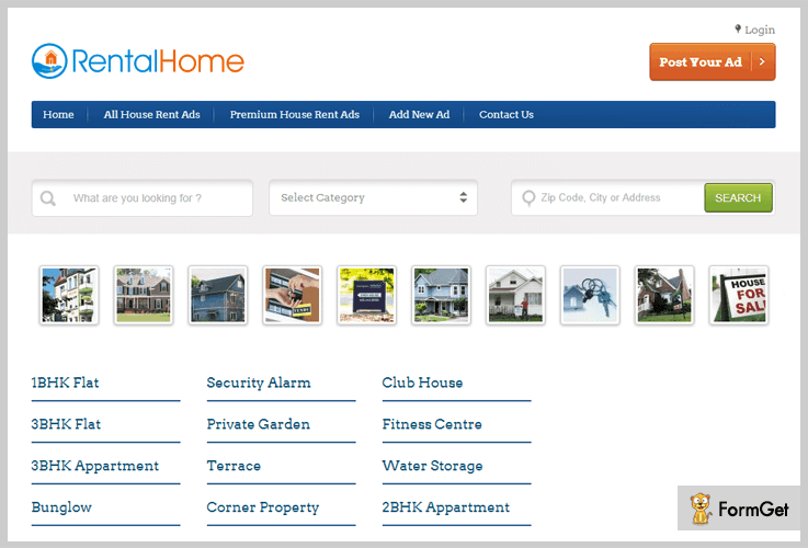 Rental Home Realtor WordPress Theme