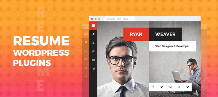 Resume WordPress Themes