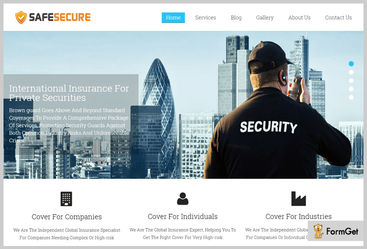 safe secure security wordpress themes