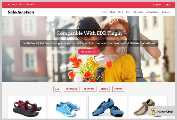 SaleJunction Marketplace WordPress Theme