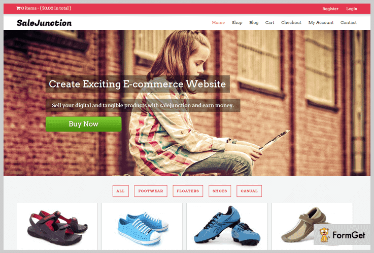 SaleJunction Store WordPress Theme