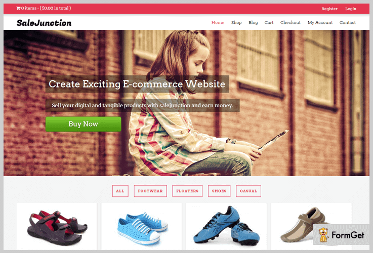 salejunction Shopping WordPress Themes
