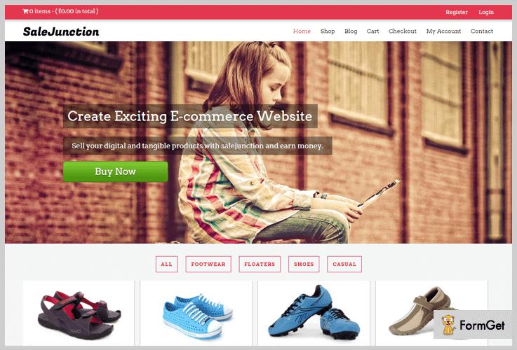 SalesJunction Shop WordPress Themes