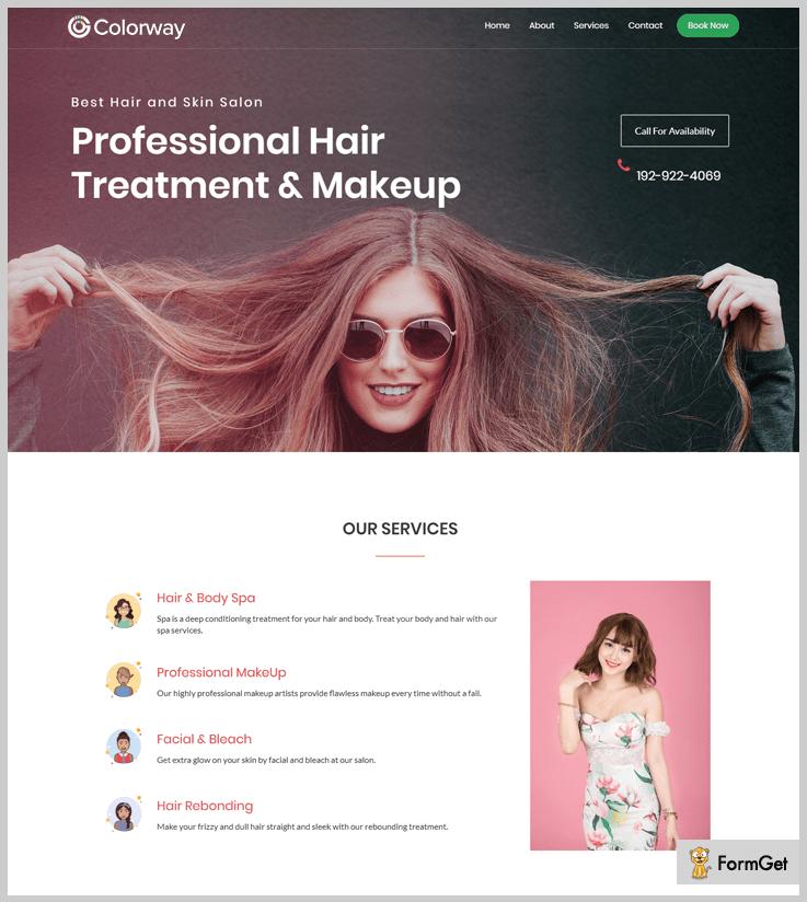 Colorway - Cosmetic WordPress Theme
