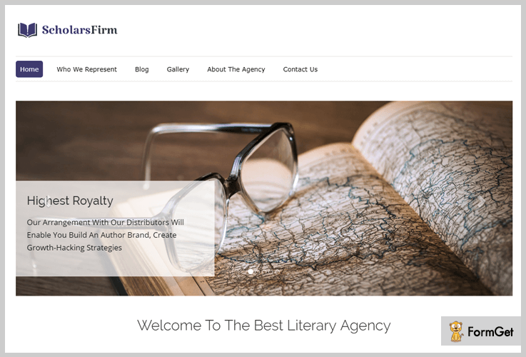 Scholars Firm Creative Agency WordPress Theme