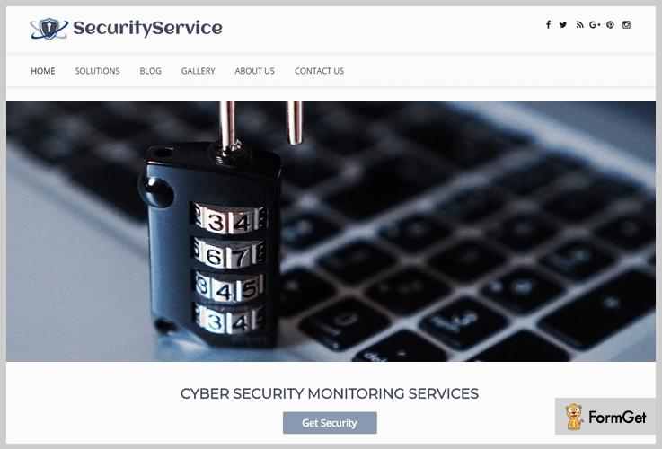 security service security wordpress themes