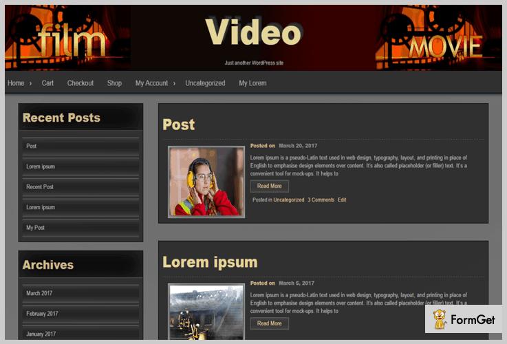 Seos Video Tutorial WordPress Theme