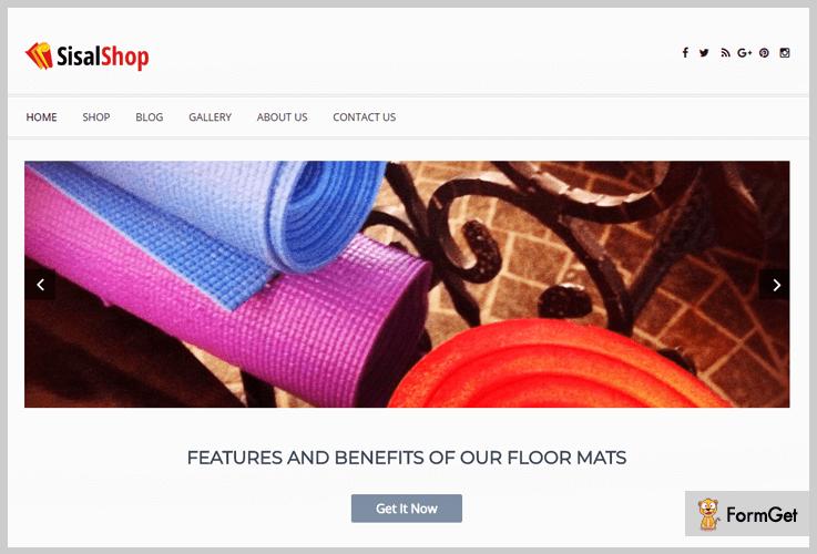 SisalShop Shop WordPress Themes