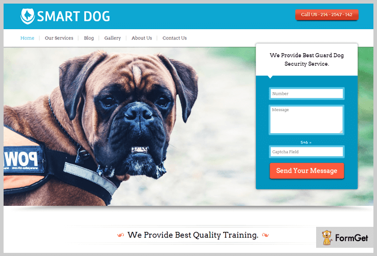 smart dog security wordpress themes
