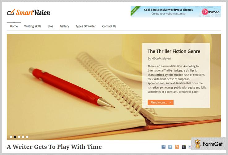 SmartVision Journalist WordPress Themes