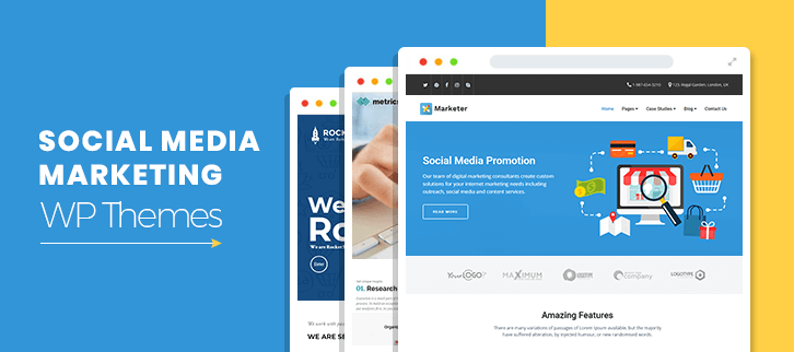 Social Media Marketing WordPress Themes